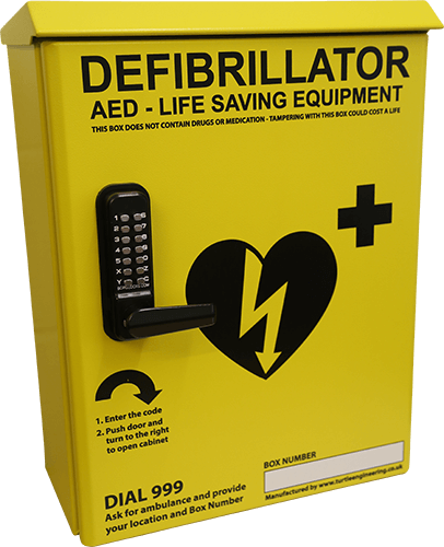 Robust & Secure Defibrillator Cabinets