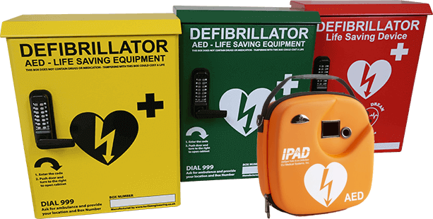 Cabinets and Defibs
