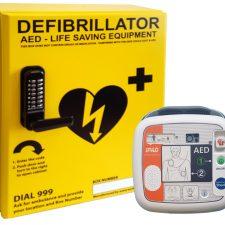 AWC001 with iPAD SP1 Defibrillator