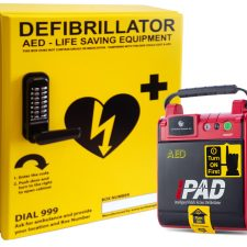 NF1200 with AWC001 Defibrillator Cabinet