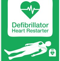 Using a defibrillator