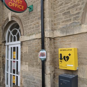 Where to locate your defibrillator cabinet